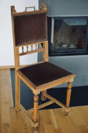 6stk antike Stühle