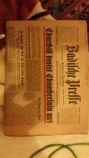 Ich biete Antiquität Zeitung 1940