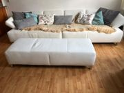 Traumhaftes weißes Lounge-Sofa Ewald Schillig