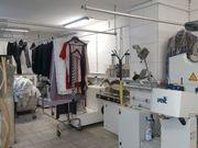 Textilreinigungsbetrieb mit kompletter