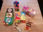 Verschiedene Baby Spielsachen
