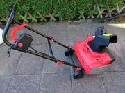 Schneefräse elektrisch VidaXL 2000W neuwertig