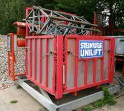 Bauaufzug Steinweg Unilift 1000 1500