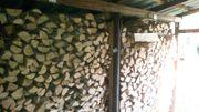 Kaminholz , Brennholz zu