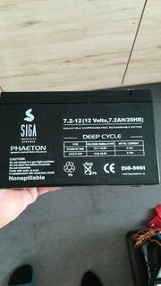 Verkaufe neueAGM Solar und Starterbatterie