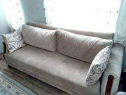 Wohnzimmer Schlaf- Sofa - Leone- Neuwertig
