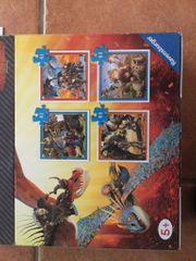 4 Dragons Puzzles neuwertig und