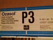 Ozasol Offsetdruckplatte