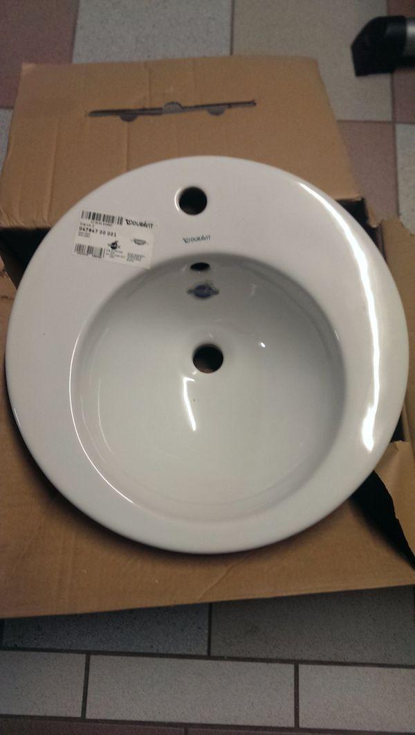 duravit waschbecken gebraucht kaufen nur 2 st bis 60 g nstiger. Black Bedroom Furniture Sets. Home Design Ideas