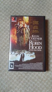 VHS Video Robin Hood König
