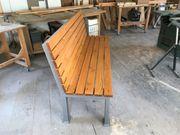 Verkaufe eine Sitzbank neu
