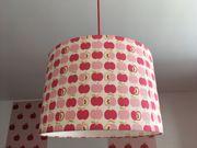 Lampenschirme rosa kariert Apfel - Lampenschirm