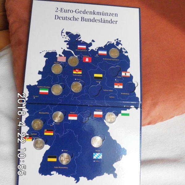 Suche Deutsche 2 Euro Münzen Zirkuliert In Bremen Kaufen Und