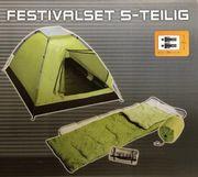 Festival Zelt 5 tlg Neu