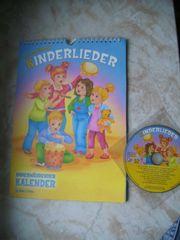 Kinderliederkalender mit CD