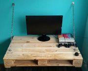 Paletten - Schreibtisch für
