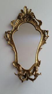 Messingspiegel Wandspiegel Spiegel Jugendstil mit