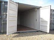 Lager-Garage-Container-für Privat und Gewerbe mit