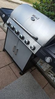 Gas grill broil