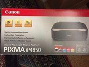 Drucker pixma ip4850