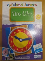 Spiel: Uhr lernen -