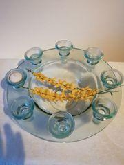 Dekoration Glas Schale