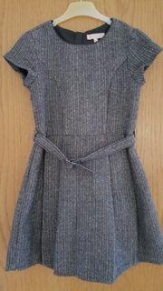 festliches Kleid silber von C