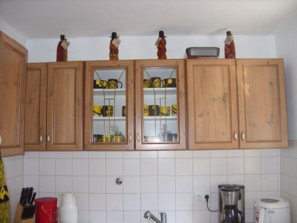 Küche E-Herd Hängeschränke Unterschränke Kühlgefrier Kombi in ...
