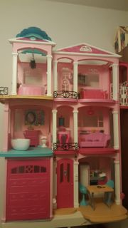 barbie traumhaus kinder baby spielzeug g nstige angebote finden. Black Bedroom Furniture Sets. Home Design Ideas