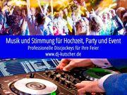 Stilvoller DJ für Hochzeit Geburtstag