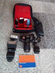 AGFA SELECTRONIC 3 Spiegelreflex-Kompaktkamera mit