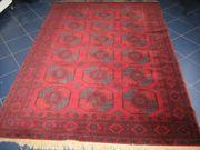 Vintage Orientteppich Rot Antik Look