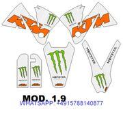 KTM 2000 2001 2002 Dekorsatz