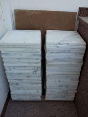 Marmor - Bianco Carrara - Bodenplatten 30cm