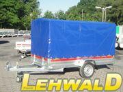 750kg Planenanhänger Kastenmaße: