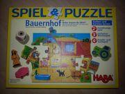 Spiel Puzzle Bauernhof von HABA