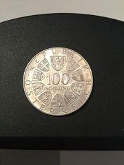 100 Schilling Silber