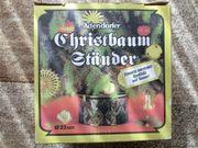 Christbaumständer / Weihnachtsbaumständer/ grün /