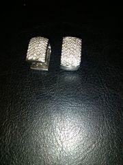 Ohrstecker 750 Weisgold Brillanten Diamanten