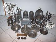 Große Zinn-Sammlung