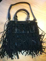 Tasche, Umhängetasche schwarz