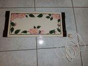 Warmhalteplatte Thermoplatte Rowenta Design Wildrose