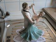 Tanzpaar aus Porzellan