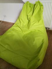 Verkaufe Sitzsack in Grün