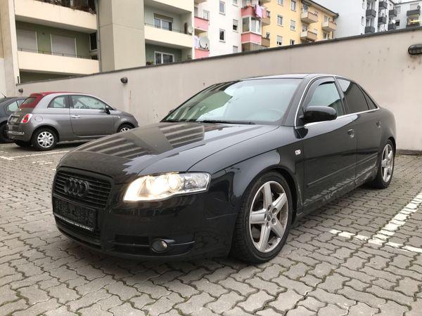 Audi A4TFSI. S-Line. Automatik. Bi- Xenon. Klimaautomatik - Ludwigshafen Mitte - Audi, A4, Limousine, Benzin, 200 PS, 197.000 km, EZ 10/2007, Automatik, Schwarz Metallic, Scheckheftgepflegt, Nichtraucherfahrzeug. Zum Verkauf steht meinen geliebten Audi A4 2.0T S-Line mit Top Ausstattung wie z.B.: 7-Gang Automatikg - Ludwigshafen Mitte