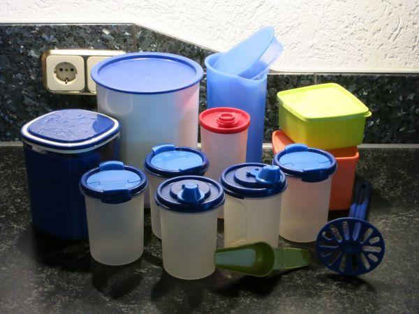 Tupperware - Diverse Vorratsdosen zu verkaufen! - Nußloch - Diverse Vorratsdosen von Tupperware (wie abgebildet) zu verkaufen!Wir sind ein Tierfreier-Nichtraucher-Haushalt.Bei weiteren Fragen gerne einfach anrufen oder mailen. - Nußloch