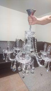 Kristall-Leuchter neuwertig