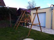 Schaukelgestell Klettergestell Leiter Kinderschaukel