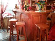 Hausbar Bar Barschrank Barhocker 100-jährige