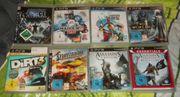 Sammlung mit 8 Spielen für